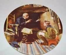 "* New *Norman Rockwell ""The Veteran"" Heritage Collector Plate ( 1, Pl3)"