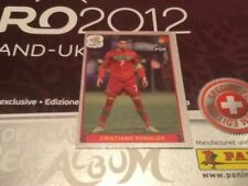 #280 CRISTIANO RONALDO PORTUGAL PANINI EURO 2012 Swiss Platinum Edition Sticker