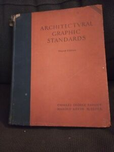 Architectural Graphic Standards Third Edition Charles Ramsey Harold Sleeper