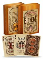 Bicycle Bourbon Premium Poker Size Standard Index Playing Cards Made in The USA