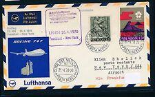 96068) LH FF Frankfurt-New York 26.4.70, sou a partir del Vaticano