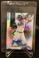 2019 bowman platinum Shervyen Newton RC Autograph