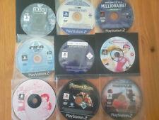 x 9 lote videojuegos GRANDES TITULOS OFERTA PSX PS2 solo discos