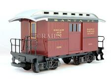 LGB G GAUGE 32050 SANTA FE BAGGAGE AND MAIL CAR #3205