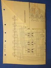 HARMAN KARDON PM640 SCHEMATIC WIRING DIAGRAM LARGE FOLD OUT FACTORY ORIGINAL