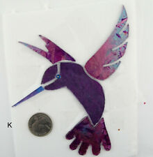 "HUMMING BIRD ""K"" by Makena Tile"
