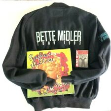 1993 Bette Midler  Experience the Divine XL Jacket + PROGRAM w/LOCAL CREW PASS