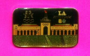 1984 LA OLYMPIC PIN STADIUM PIN LA COLISEUM PIN