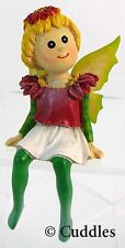 Garden Fairy Figurine Ganz Fairy Wings Xmas Fantasy Mini Nature Plant Flower