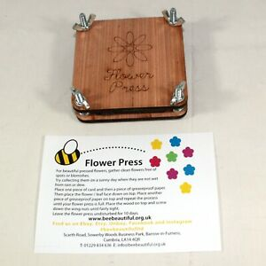 Wooden Flower Press complete kits 100mm party, schools, groups, classroom 1- 30