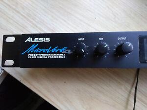 Alesis Microverb 4 Preset/Programmable 18-Bit processeur de signal