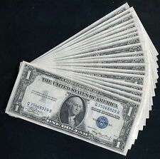 (27) CONSECUTIVE 1935-A $1 ONE DOLLAR SILVER CERTIFICATES GEM UNCIRCULATED