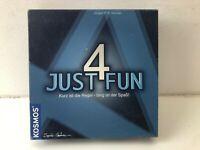 Just 4 Fun von Kosmos Brettspiel Gesellschafts Logik Rätsel Familien