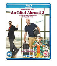 An Idiot Abroad - Series 3 NEW Cult Blu-Ray Disc Luke Campbell Karl Pilkington
