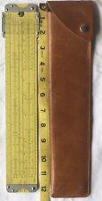 Pickett 4-Es Duel Base Log Log Vector Hyperbolic Sliderule w Case- Artwk 303/302