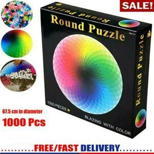 Jigsaw Puzzles 1000 Piece rainbow Adult Kids DIY Puzzle Child Game Home Decor AU