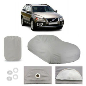 Covercraft Custom Fit Car Cover for Select Volvo V70 Models Black Fleeced Satin FS17542F5