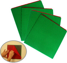 Peel and Stick Baseplates base plates for DIY playing Table Or Wall, 4 Green