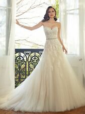 Wedding dress and matching veil, Size 6, Sophia Tolli, Prinia, Ivory, Petite
