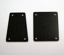 XTREME RACING AXIAL EXO CARBON FIBER FRONT AND REAR INSERTS XTR11821 1/10 EP