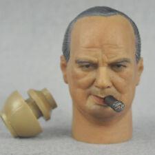 HeadPlay-Tête Winston Churchill à l'échelle 1/6ème - NIB