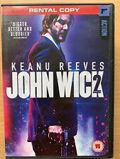 Keanu Reeves John Wick 2 2017 Action Revenge Thriller UK DVD
