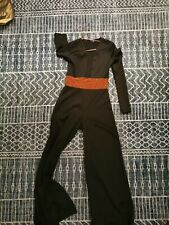 Evening jumpsuit stunning size 8 sexy long sleeved occasion