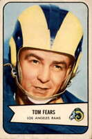 1954 Bowman #20 Tom Fears VG/VGEX LA Rams 400468