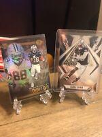 2020 Ceedee Lamb Panini Phoenix and Illusions Rookie Cards (2) Dallas Cowboys RC