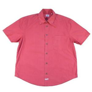 Vintage CP Company Short Sleeve Button Up Made In Italy - S/M