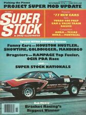 SUPER STOCK 1976 NOV - NEW CARS, MAXEY, T400 TIPS, YANKEE, HOOVER