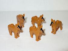 NEW LEGO hunting DOG pet castle kingdom wolf police k9 tan shepherd figure 70400