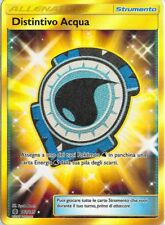 POKEMON: CARTA DISTINTIVO ACQUA - SM02 GUARDIANI NASCENTI 161/145 italiano