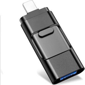 64G 256G 1TB USB Flash Drive For iPhone ipad Photo Movies External Storage Stick