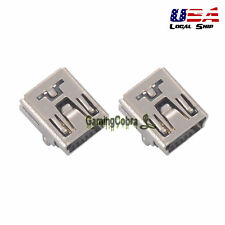 2PCS Replacement Parts Charger Charging Port Plug Connector For PS3 Controller