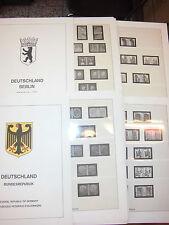 Lindner-T Federal Pares 1951-2003 + Berlín Pares 1949-1990 cada completo (117)