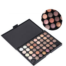 40 Color  Set Cosmetic Matte Eyeshadow Cream Eye Shadow Makeup Palette Shimmer^