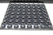 Genuino 3M SJ5003 Bumpon Nero, Paraurti in Gomma Autoadesiva, 11.2mm (l) x 5.1mm