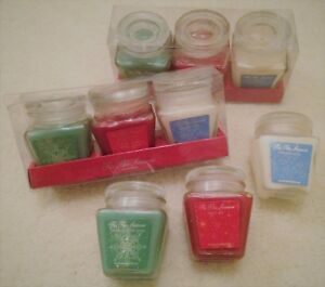 NEW Holiday Jar (3) Candle Set - 2.6 oz each - Great for Christmas Holidays!!