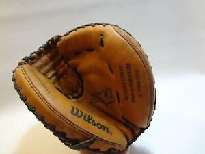 "Wilson PRO 500 MLB Baseball Leather 32"" A0500 PCM Catchers Mitt Glove RHT"