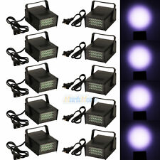 10x Mini DJ Strobe Light Flash Light 24 LED Bulb Stage Lighting Club Party Disco