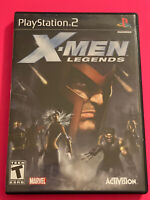 🔥 SONY PS2 PlayStation Two 💯 COMPLETE WORKING GAME 🔥X-MEN LEGENDS 🔥