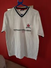 England T Shirt Written on front is  Germany 1 England 5