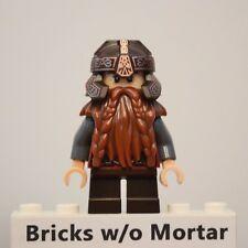 New Genuine LEGO Gimli Minifig LOTR Hobbit 79006 79008
