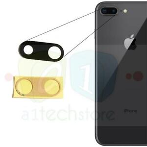Apple iPhone 8 Plus Genuine Replacement Rear Glass Camera Lens Part Adhesive