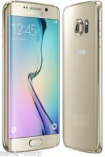 "Samsung Galaxy S6 edge SM-G925F Gold (FACTORY UNLOCKED) 5.1"" QHD, 32GB, 3GB RAM"