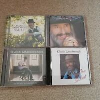 Charlie Landsborough CD Bundle 4 Albums Smile My Heart Would Know Further Down