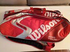 Wilson K Factor PRO TOUR 6 pack Tennis Bag with shoulder straps