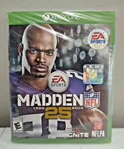⭐ Madden NFL 25 Football (Microsoft Xbox One 2013) Brand New Factory Sealed