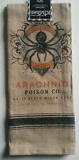 Kay Dee Designs Kitchen Tea Towel ~ Halloween Spider Arachnid Poison Co.